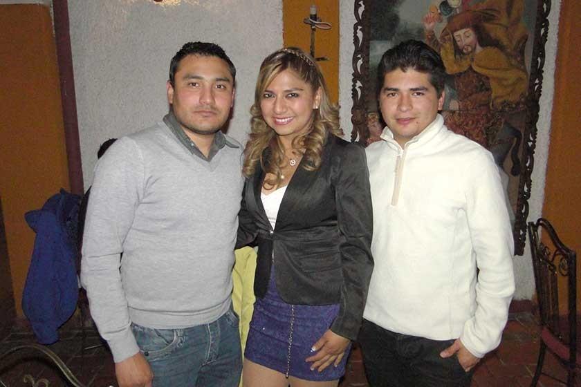 Roberto Pozo, Juma Sotez y Yerco Loayza.