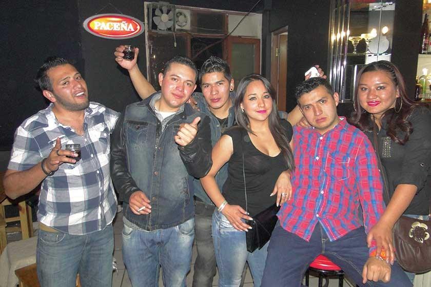 Jorge, Vladimir, Cristian, Cecilia, Miguel y Alejandra.