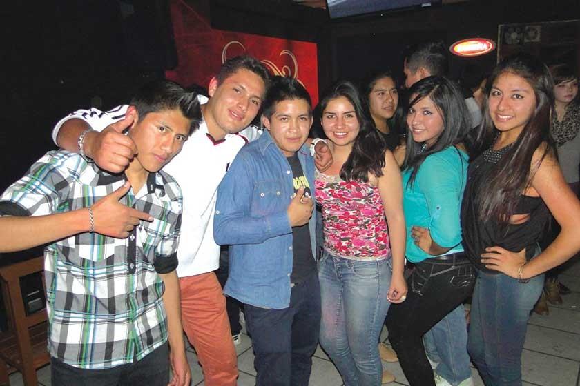 Rubén, Fernando, Luís, Gilcka, Silvana y Natalie.