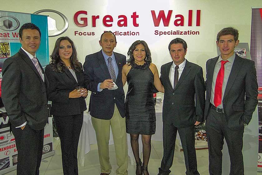 Miguel del Carpio, Lucia Montalvo, Mario Faruck Eid, Julissa Salazar, Daniel Hernaiz y Mariano Méndez Roca.