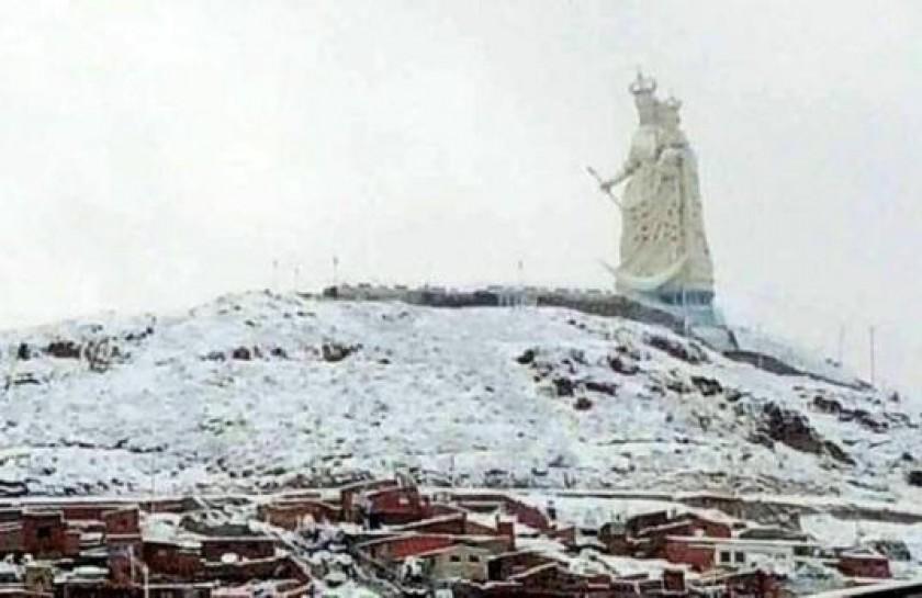 En Oruro también afectó el temporal. Foto: El Deber