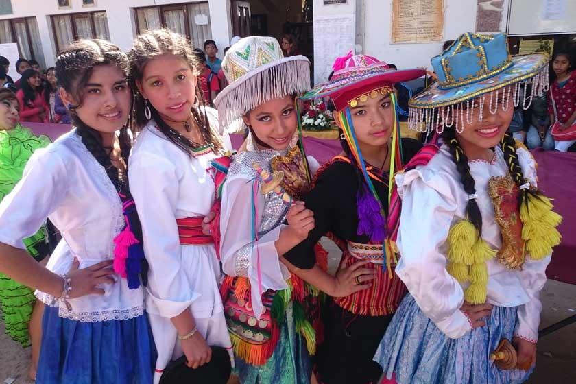 Lelia Espada, Erin Bejarano, Mariana Caballero, Raquel Durán y Jessica Carvajal.