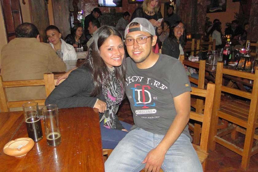 Sergio Lastra y Alejandra de Lastra.