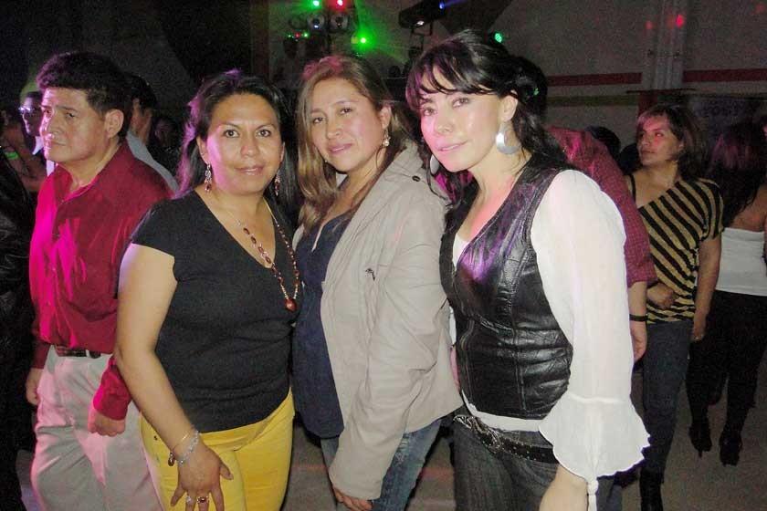 Lidia Quevedo, Zaida Beltrán y Sonia Dávalos.