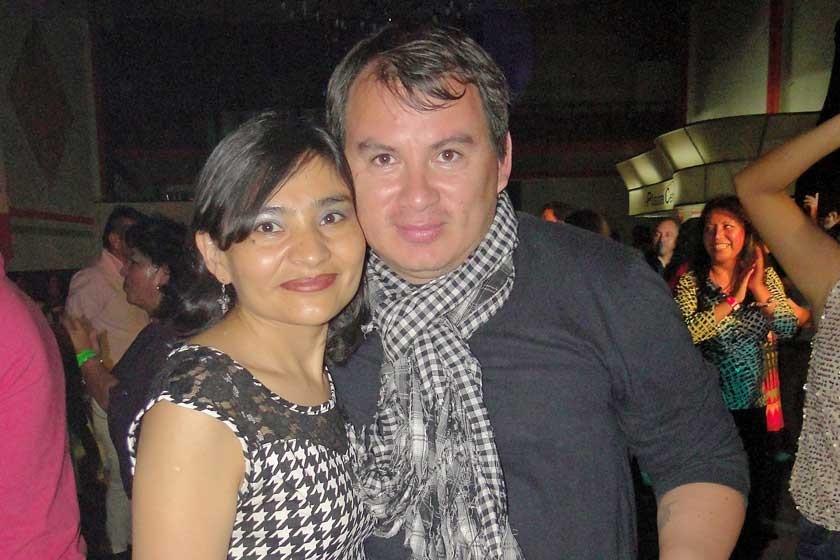 Nelly Guzmán y Eberti Burgos.