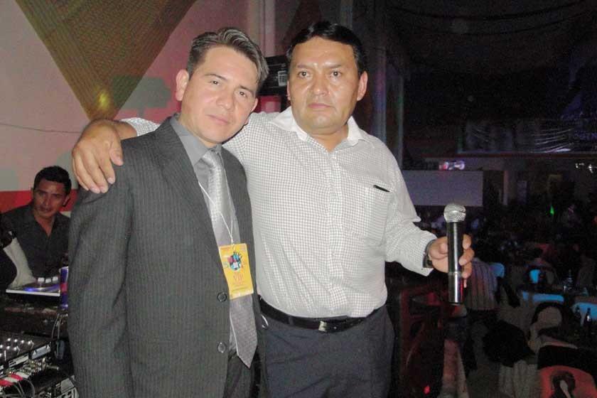 Juan Pablo Chavarría y Eddy Guzmán.