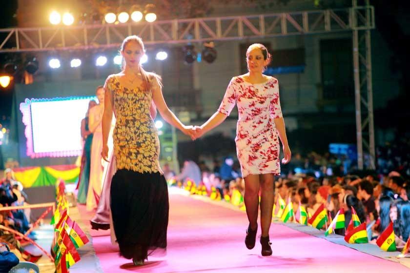 Jessica El Hage y Alejandra Barzón.