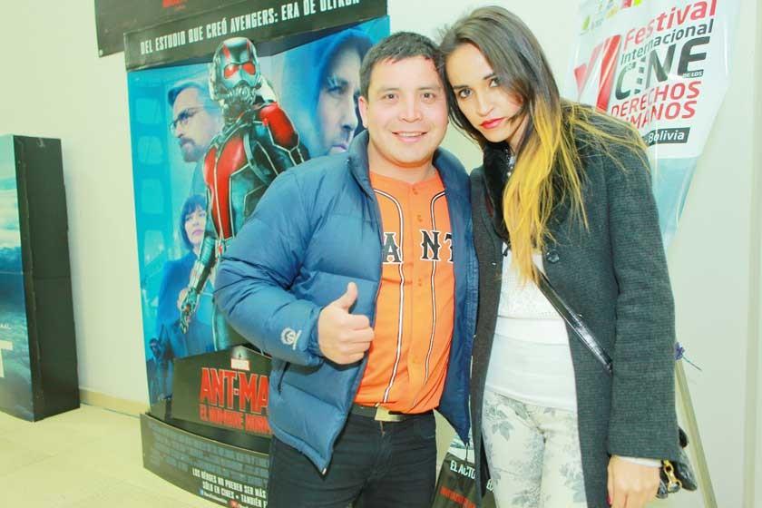 Efrain Ramírez y Brenda Vargas.