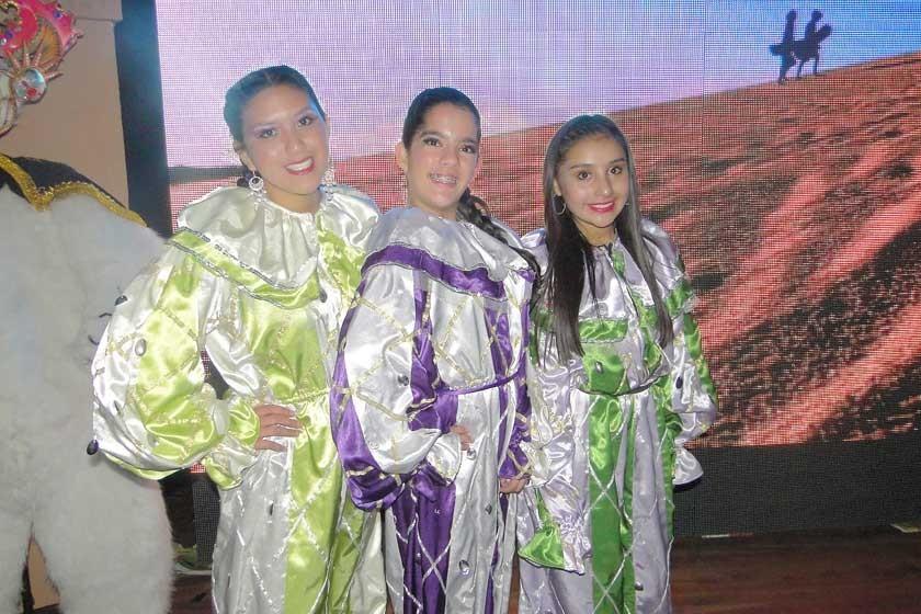 Valeria Mendoza, Valeria Cosulich y Mariana Dávalos.
