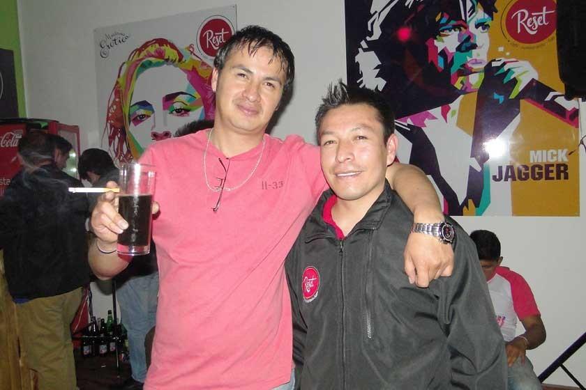 Álvaro Díaz y Juan Pablo Sáenz.