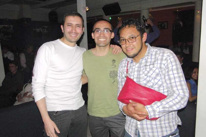 Daniel Kiriguin, Peter Stumvoll y Sergio Lastra.