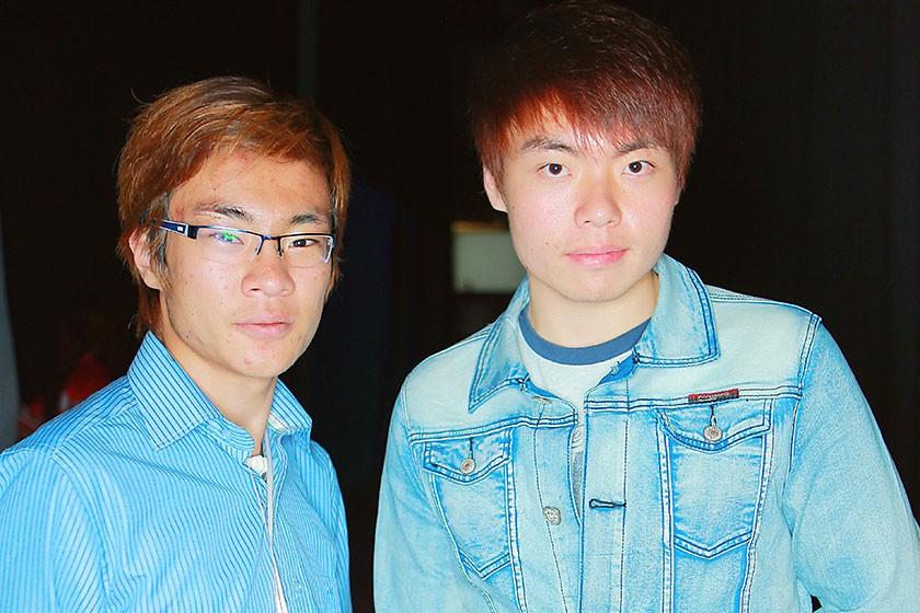 Kong Yei Jhung y Cheon Ho Young representantes del Instituto Coreano de Sucre