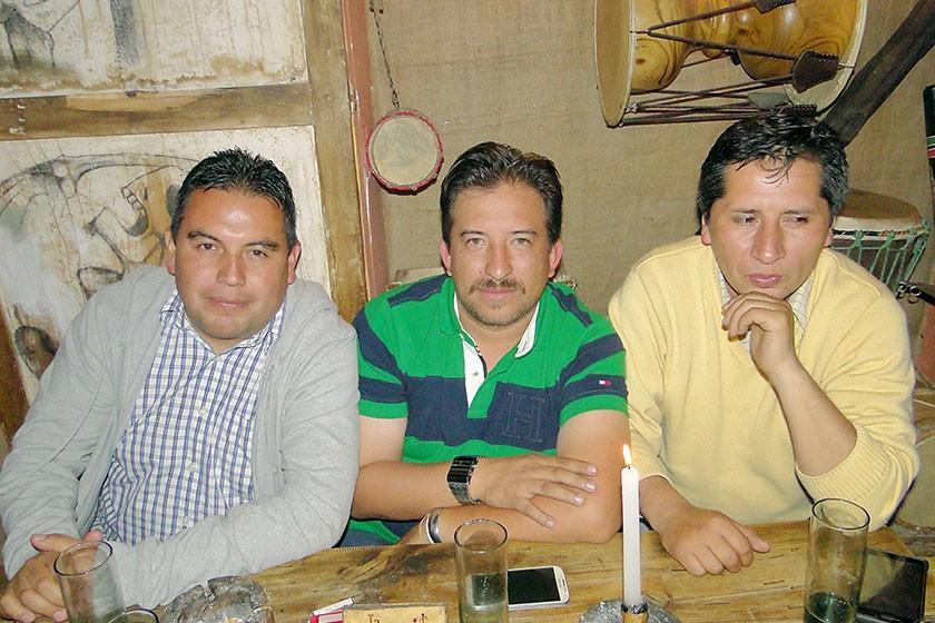 Ciro, Alex y Marcelo.