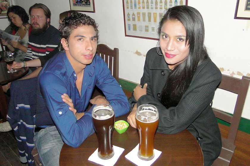 Jhosmar y Pamela