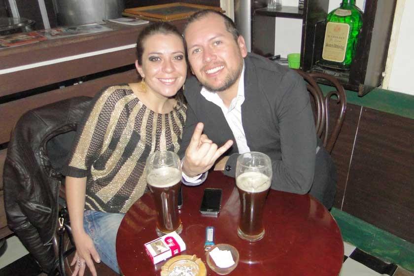 Ivana Vargas y Freddy García.