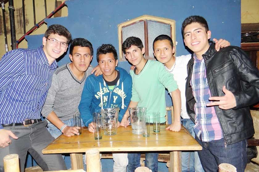 Carlos, Herland, Jose, Steven, Gabriel y Marcelo.