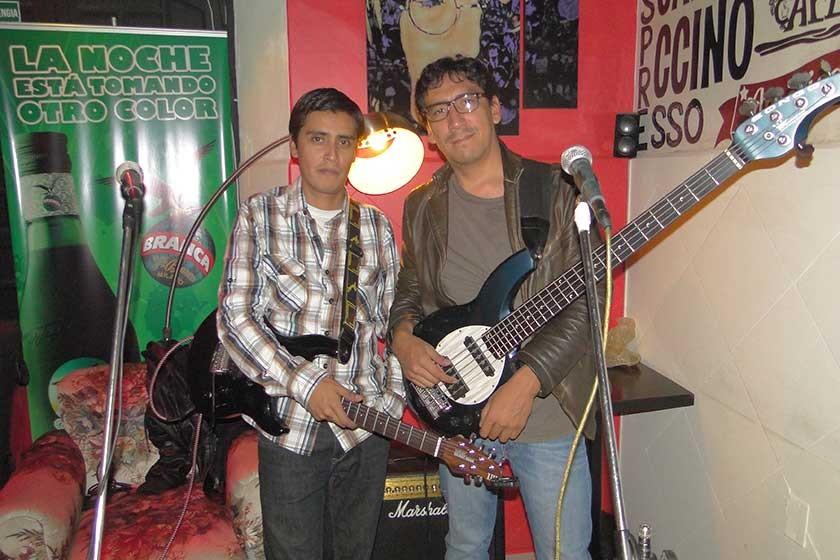 Sergio Ugarte y Juan Carlos Álvarez.