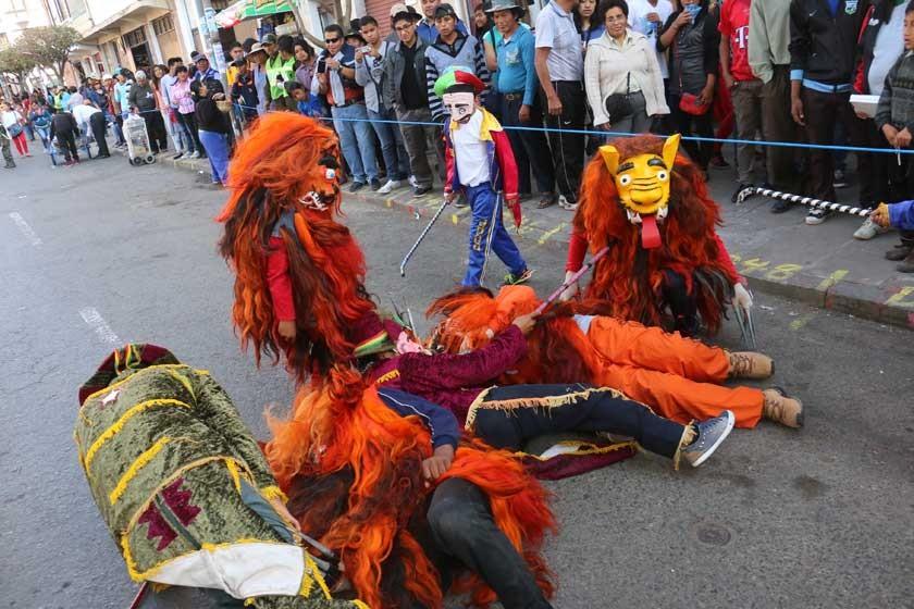 TELÚRICO. Los Thanta Morenos Virgen de Guadalupe El Abra, una de las danzas más antiguas de la región.