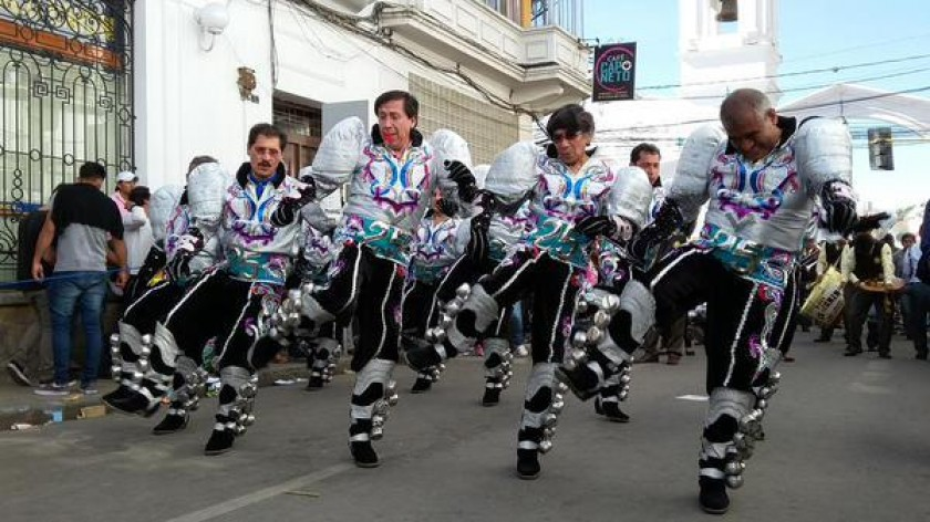 Los caporales Churuquella. FOTO: César Vale