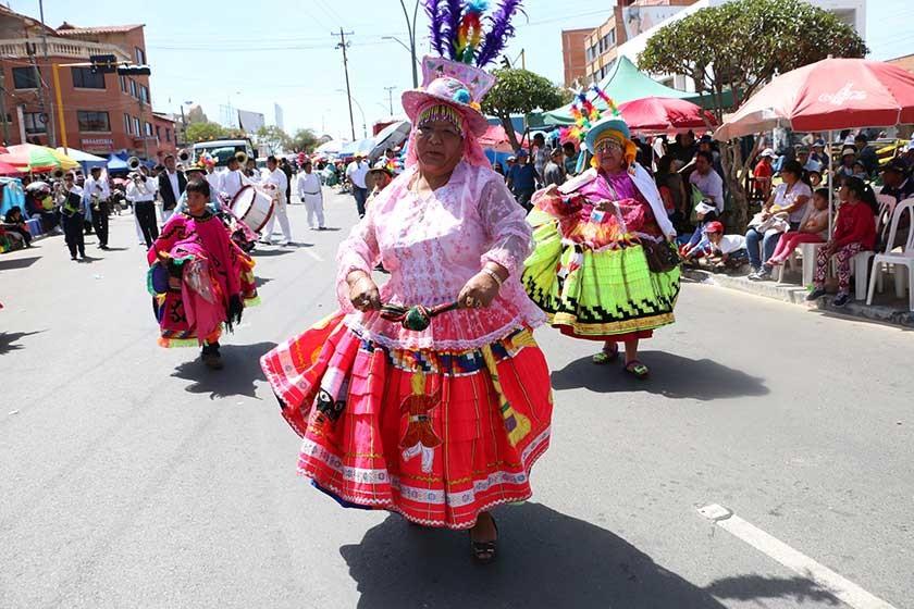 Waca wacas Mercado Central.