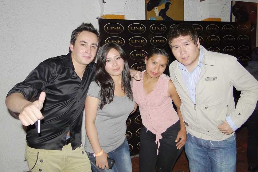 Cristian Cabezas, Nieves Flores, Ilda Chispas y Yamil Herrera.
