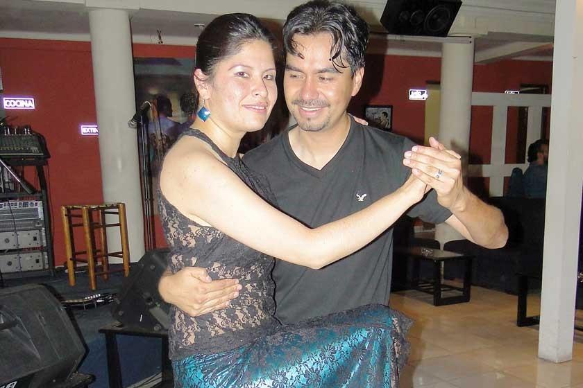 Gloria Libertad e Iván Salinas.