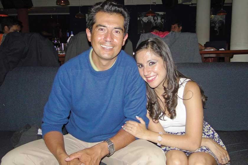 Mauricio Loayza y Loretto Loayza.