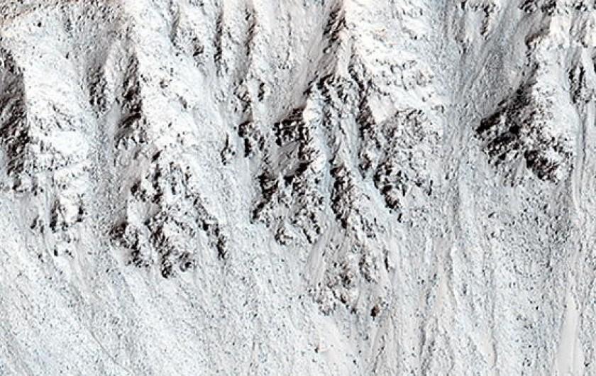 Estas son las imágenes de Marte que publicó la NASA en esta jornada. Foto: La Tercera