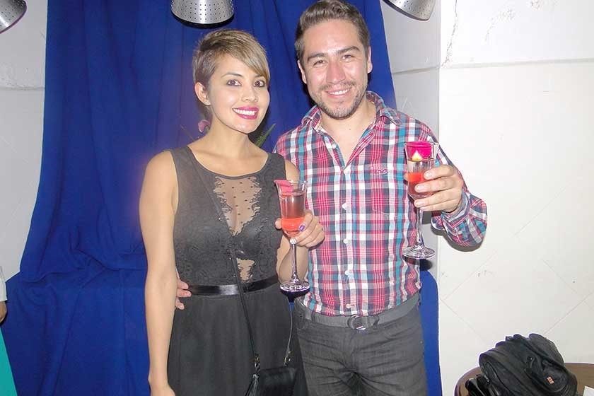 Cecilia Vera y Rodney Espinoza.