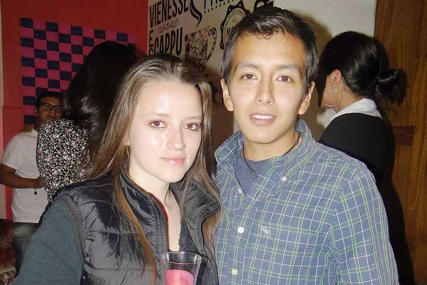 Cecilia Ríos y Franco Izursa.