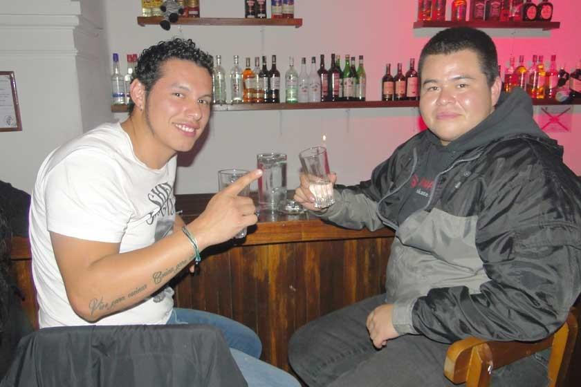 Rodrigo Ayaviri y Marco Padilla.
