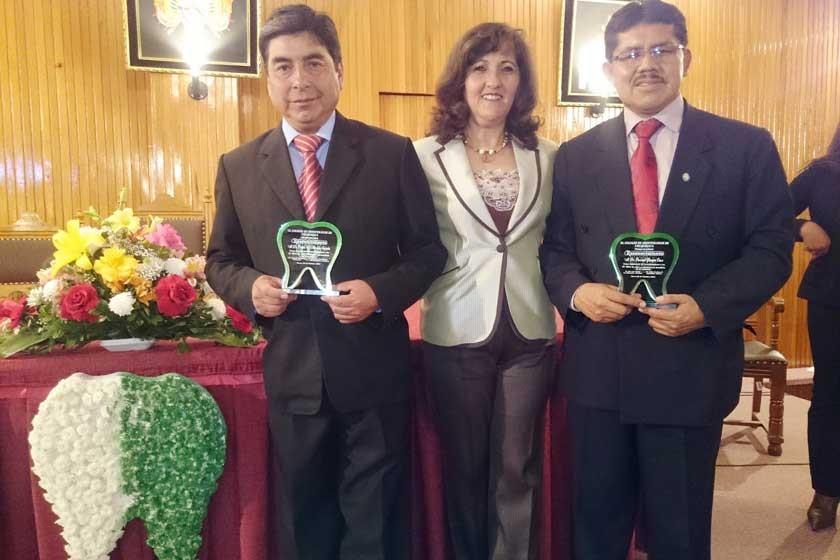 Edgar Morales, María Ocampo y Pascual Yampa.