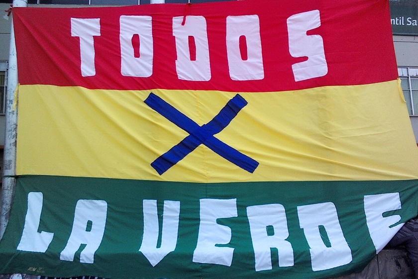 Bolivia tendrá apoyo de unas 40.000 personas en el Hernando Siles. Foto: ABI
