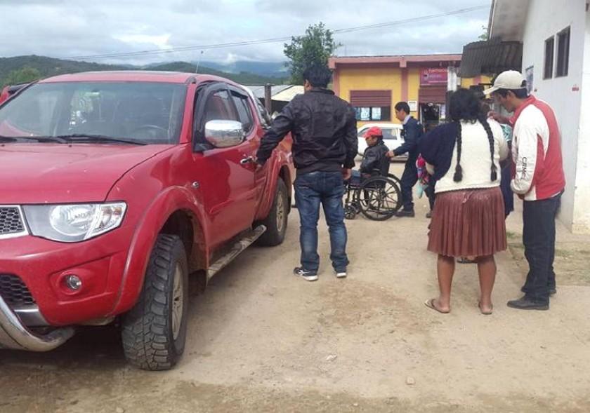 Los heridos fueron llevados al hospital de Monteagudo. Foto: Radio Suprema