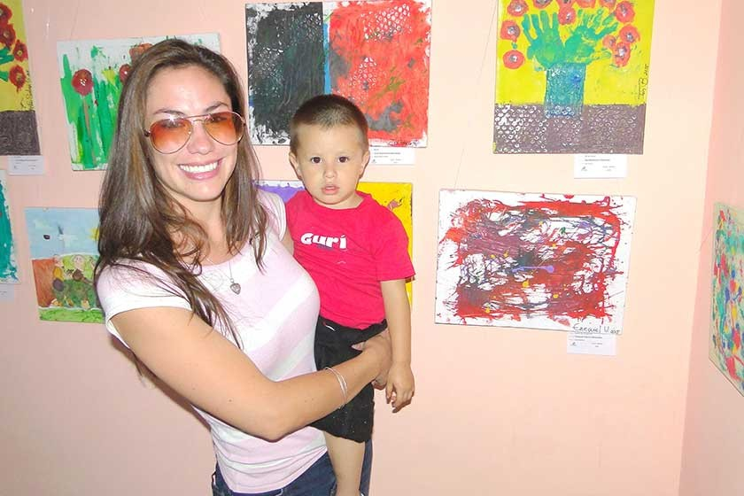 Andrea Abastoflor y Ezequiel Velasco