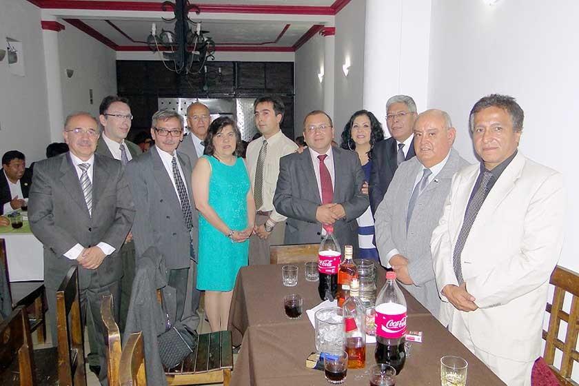 Alberto Sánchez, Víctor Hugo Moreno, Armando Cardozo, Jaime Taboada, María Dewer, Fernando Fernández, Iver Rico, Martha