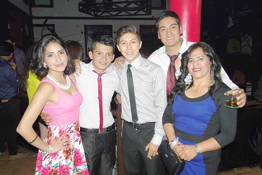 Romané Oliva, Fabio Castillo, José Ondarza, Sergio Bayo y Patricia Cisneros