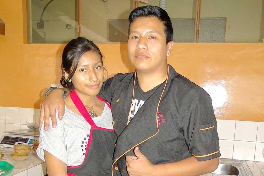 Melanie Romero y José Ignacio Daza