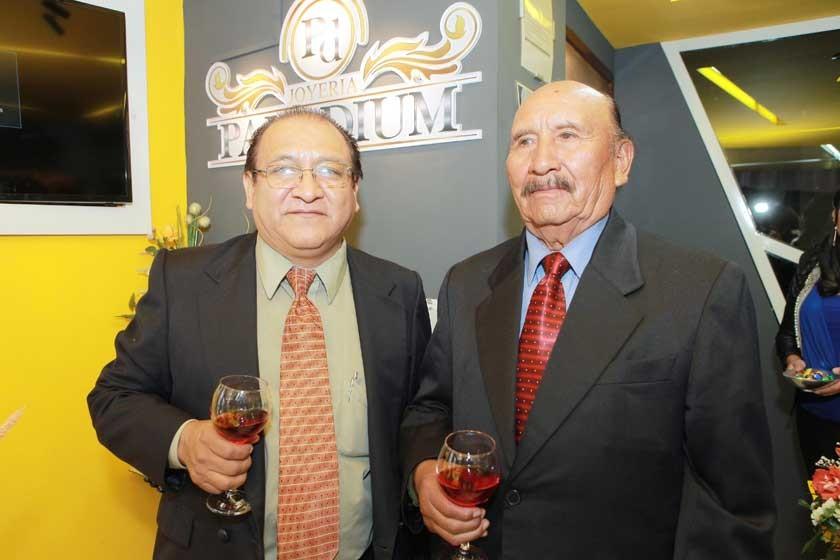 Dr. Sergio Valverde y Ambrosio Valverde.