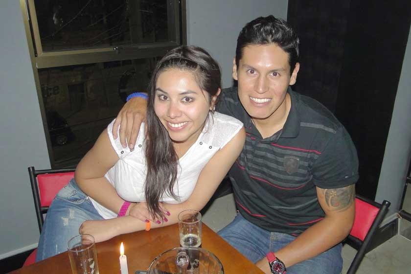 Nicole León y Jaime Tango.