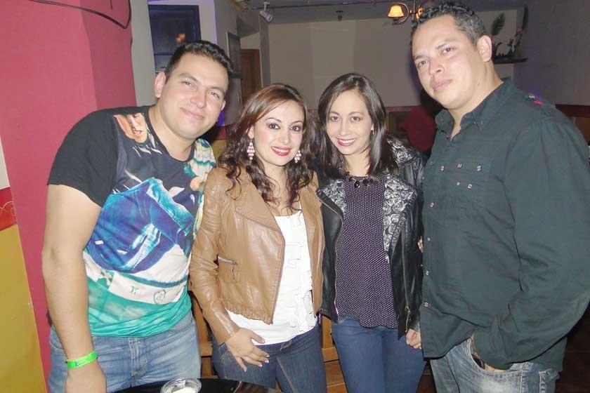 Marco, Paola, Cecilia y Alberto.