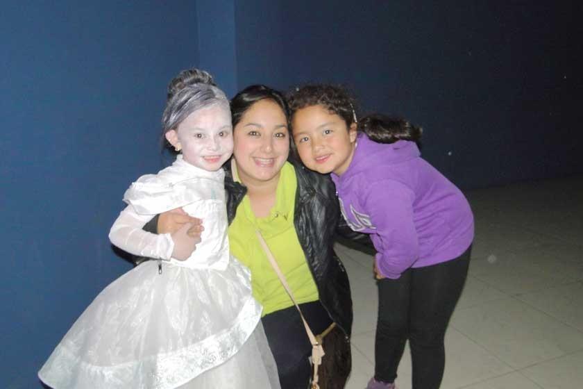 Juliana Varnoux, Beatriz Barrios y Valentina Varnoux.