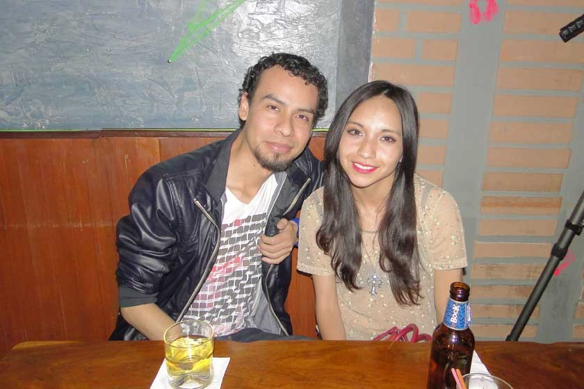 Rodrigo Medina y Fabiola Gorena.