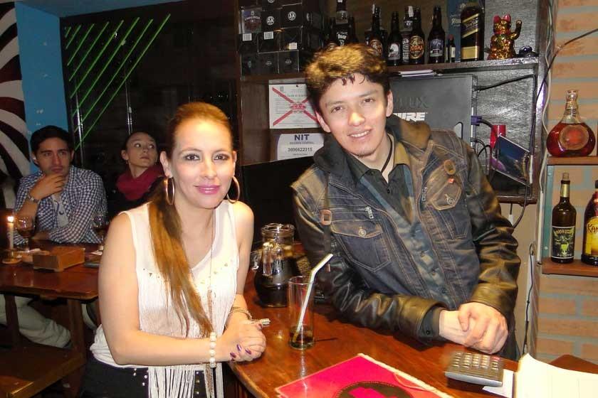 Mónica Mercado y Widen Lupa.