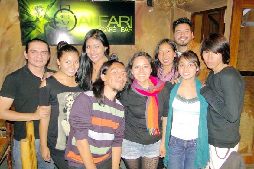 El Colectivo de Danza y teatro Martadero  de Cochabamba.