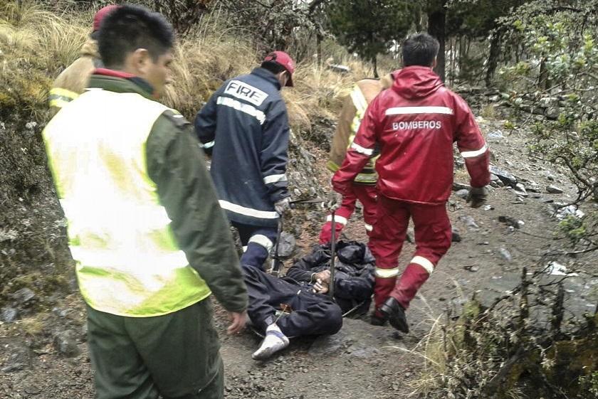 Una de las víctimas fatales tras uno de los dos hechos de tránsito. Foto: APG