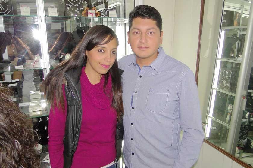 Marinel Sandoval y Roger Bedoya.