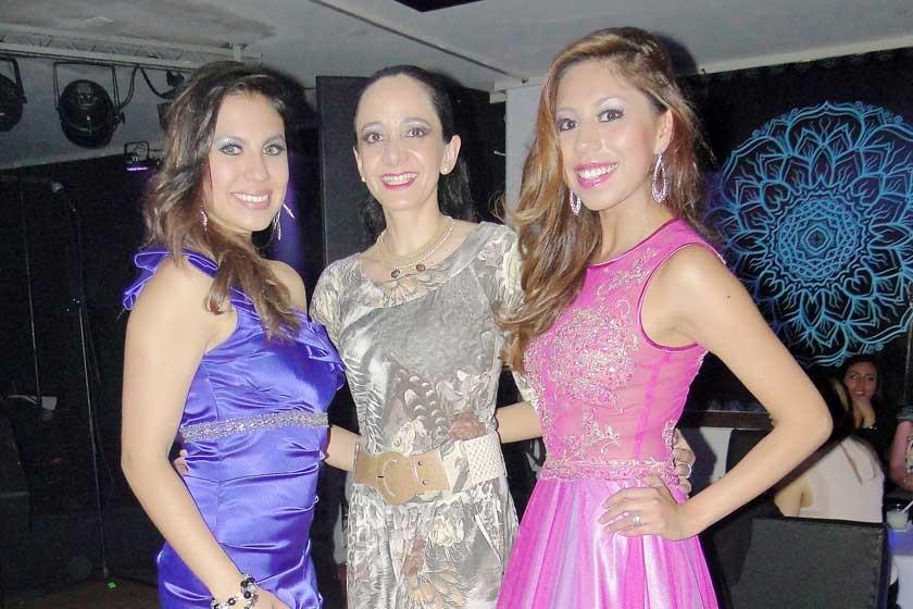 Fabiola Rejas, Alejandra Barzón y Brenda Gonzáles.