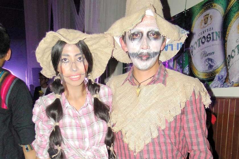 Carla Borda y Cristian Noya.