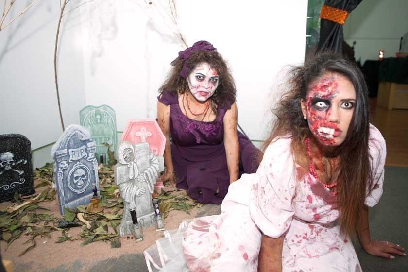 Peggy Montaño y Claudia Becerra.